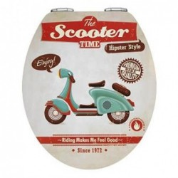 TAPA WC VINTAGE SCOOTER...