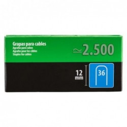 GRAPA CABLE N 36 12 MM 1000...